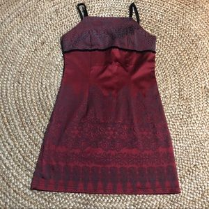Dresses & Skirts - XS/S red holiday mini dress